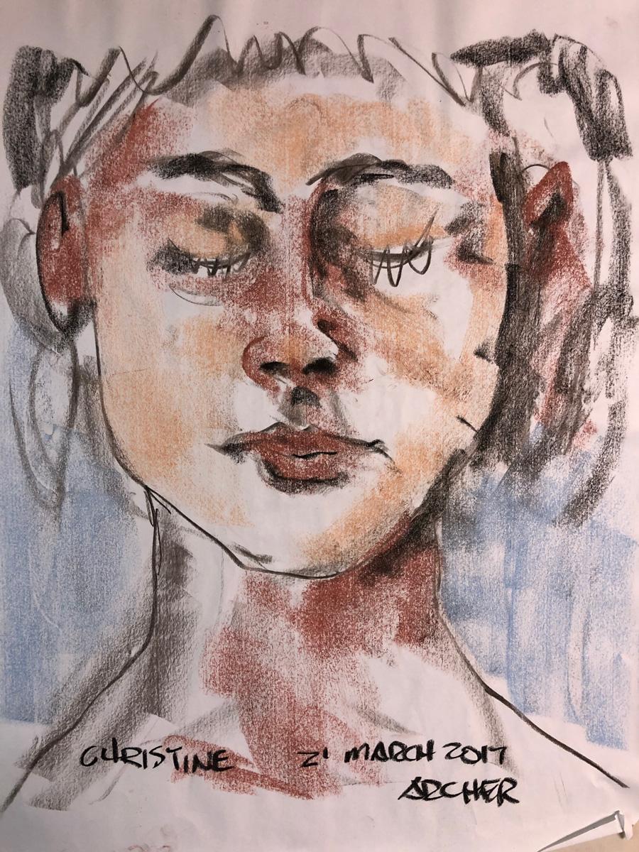 Christine No. 2 by John Archer