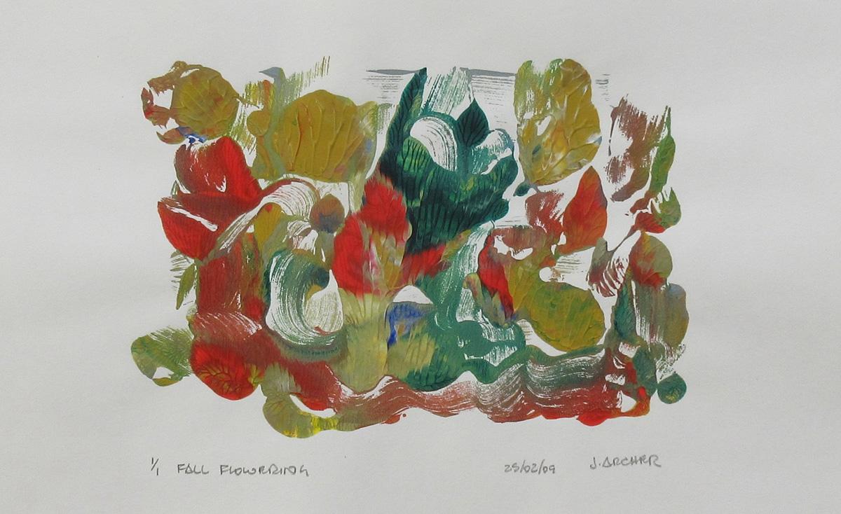Fall Flowering by John Archer
