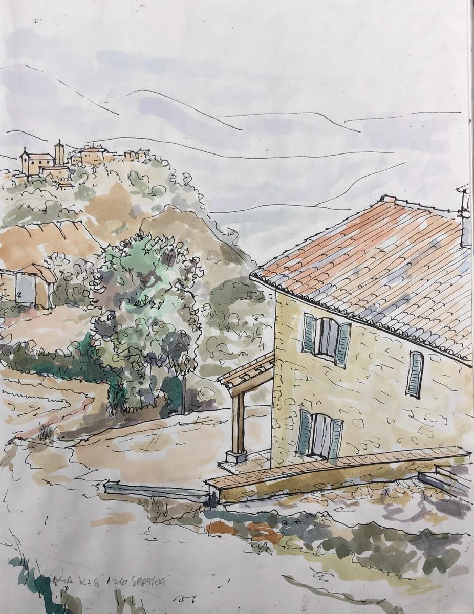 Looking to Crispiero by John Archer