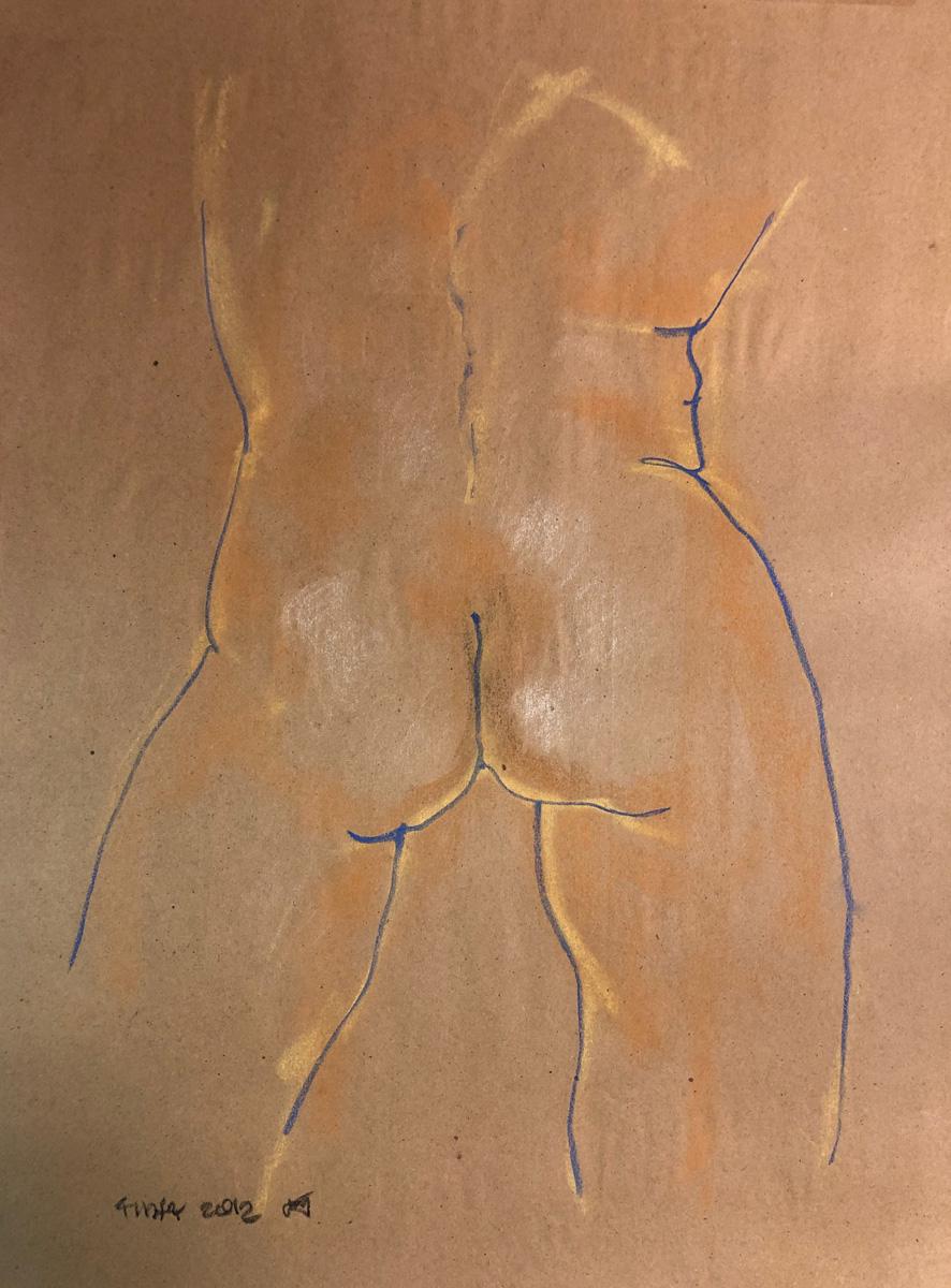 Male Torso by John Archer