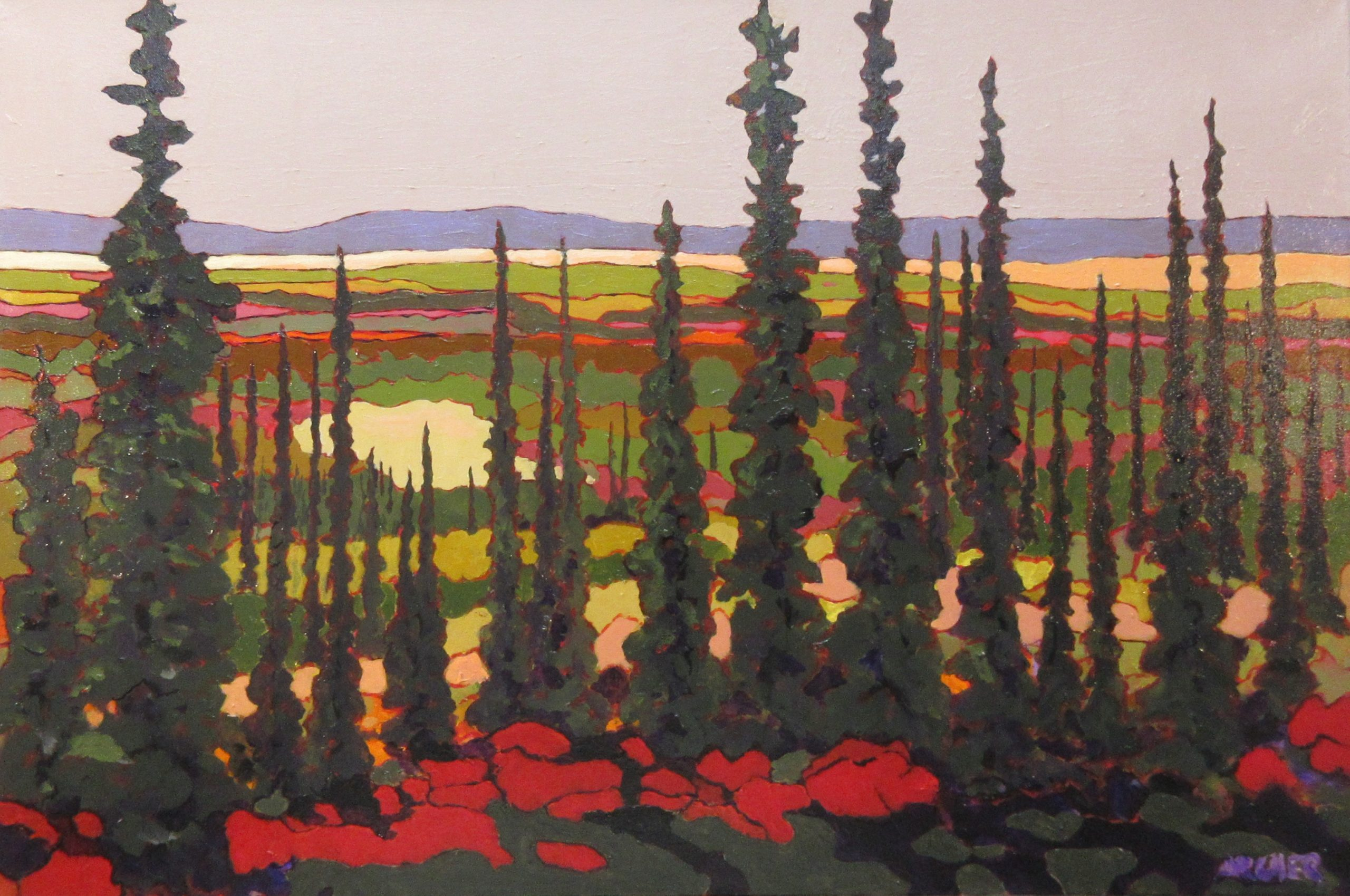 Northern Views No. 5 by John Archer