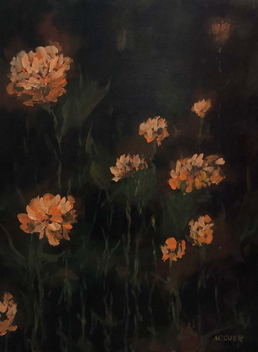 Orange & Green by John Archer