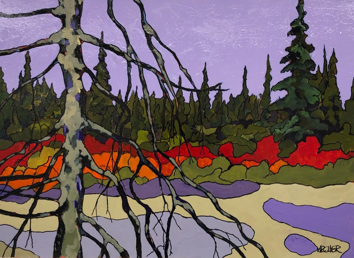 Dead Pine Trunk No. 2 by John Archer