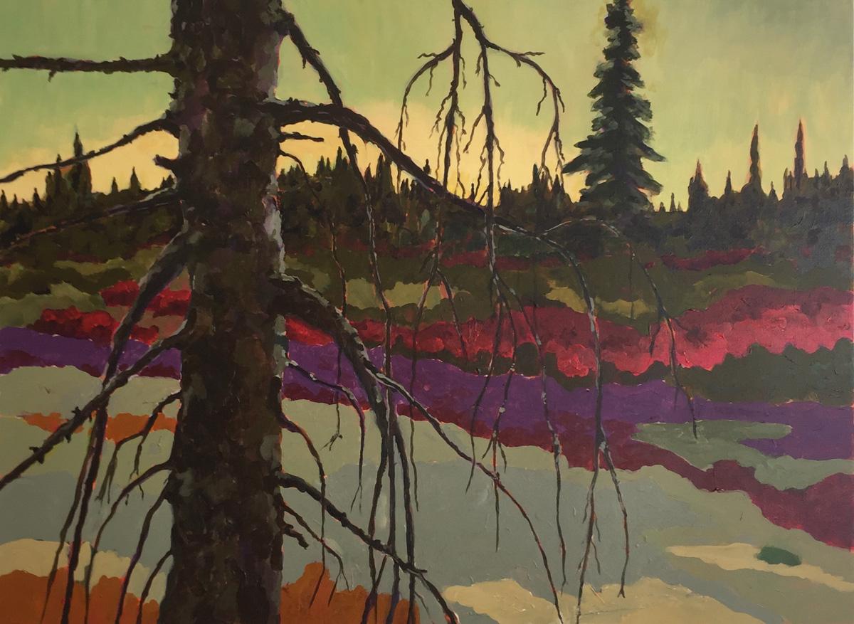 Dead Pine Trunk No. 6 by John Archer