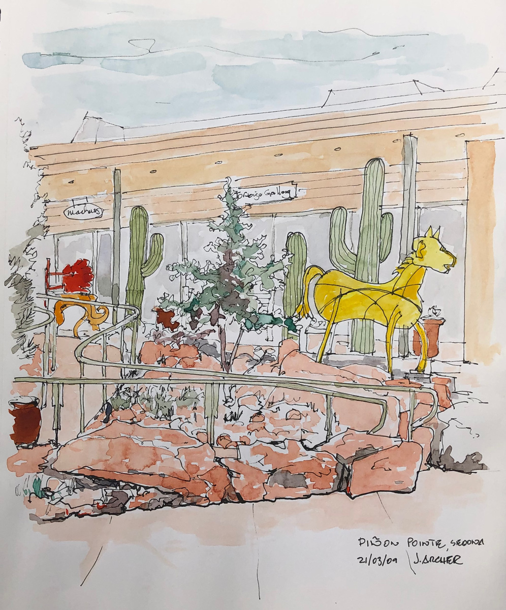 Pinon Point Mall by John Archer