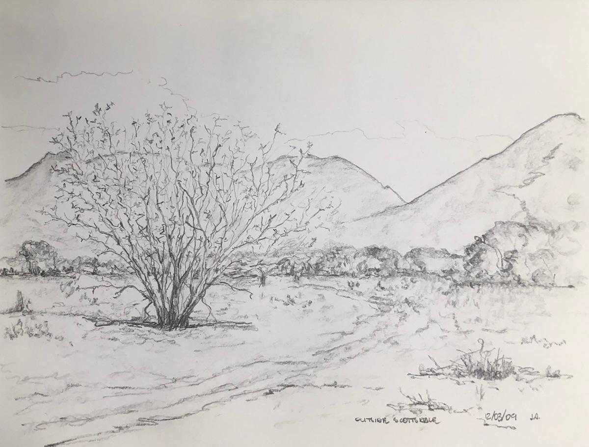 Scottsdale Outskirts by John Archer