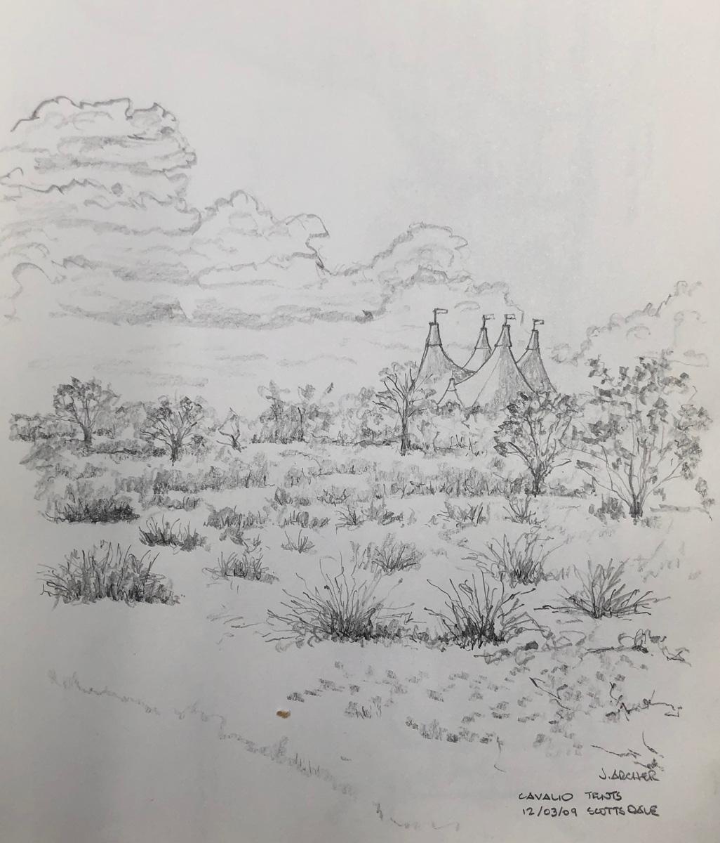 Scottsdale Tents by John Archer