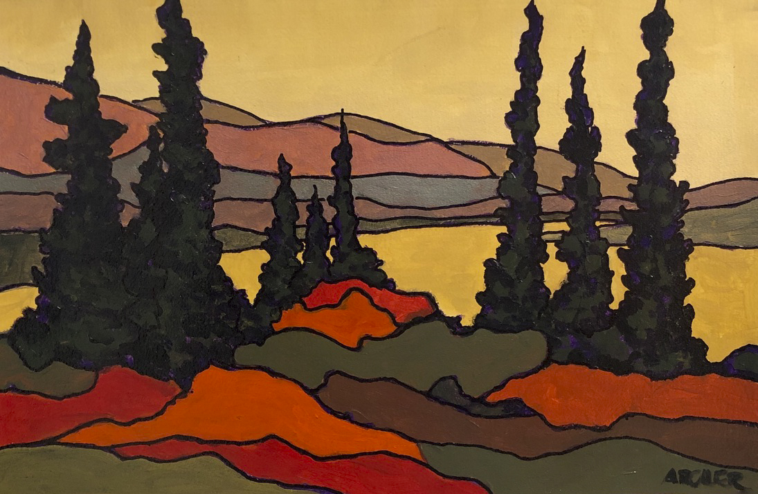 Stained Glass No. 2 by John Archer