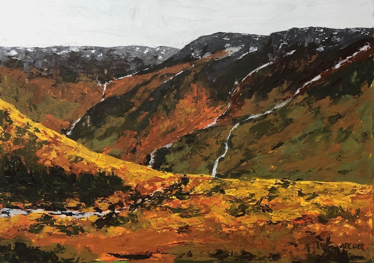 Iceland Study No. 5 by John Archer