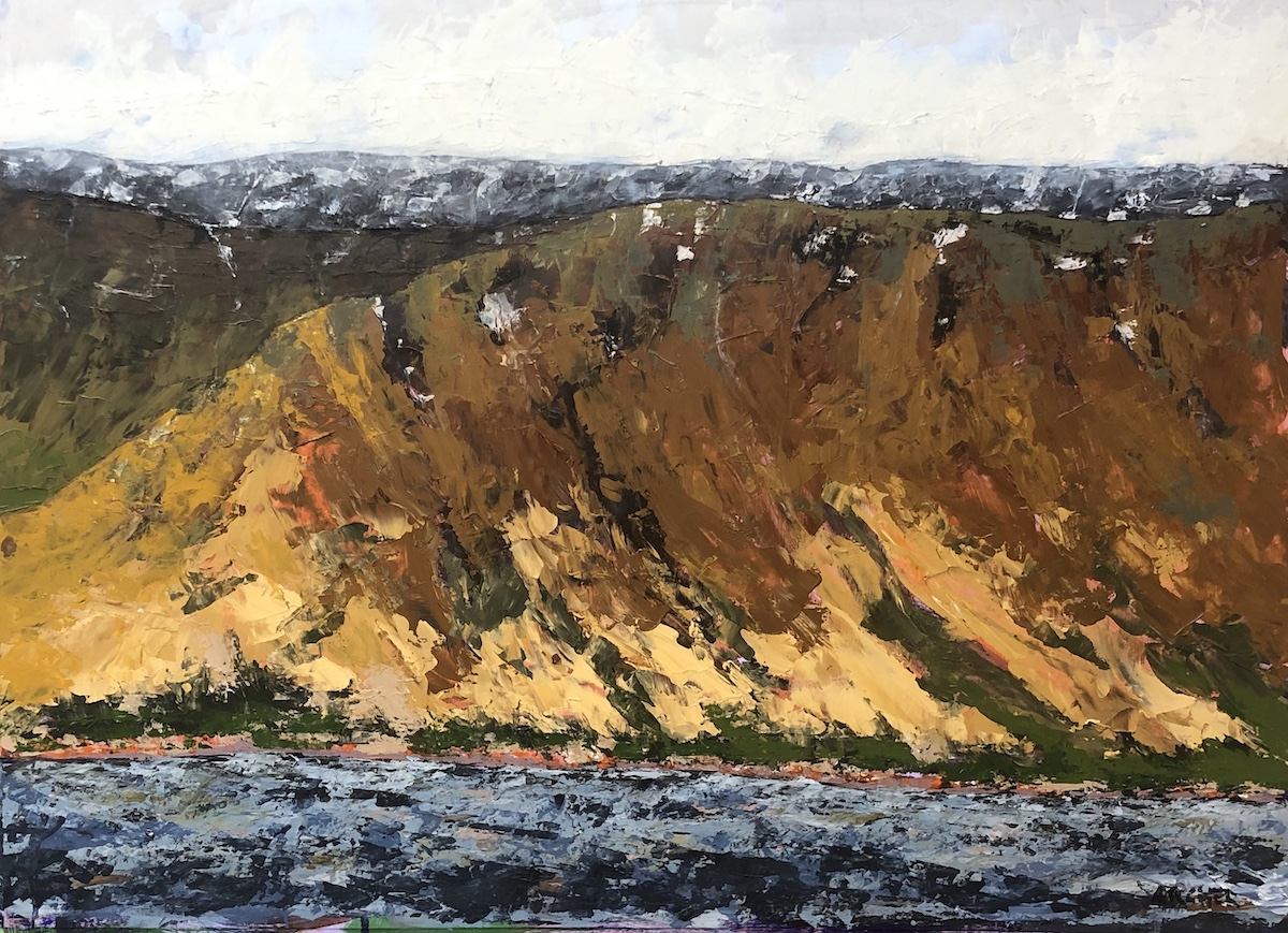 Iceland Study No. 9 by John Archer